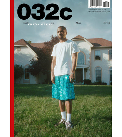ISSUE 33 - Frank Ocean Cover
