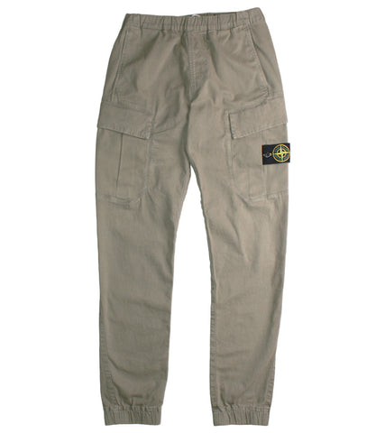 STONE ISLAND - CUFF PANTS - COMMON  - 1