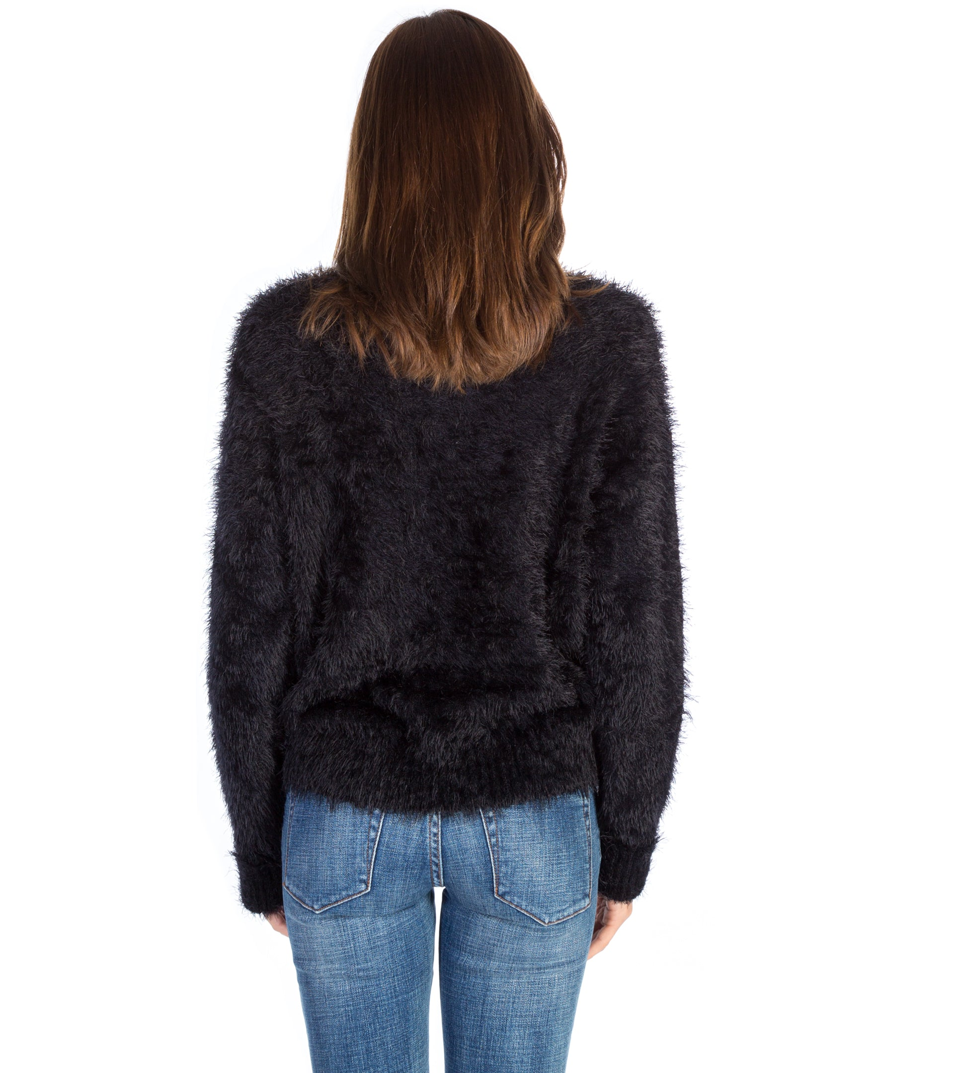 SUGARLOAF CROP KNIT SWEATER