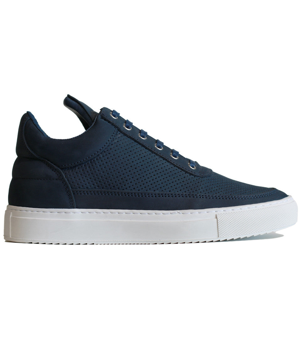 Filling Pieces - Low Top Tone Perforated Navy - COMMON  - 1