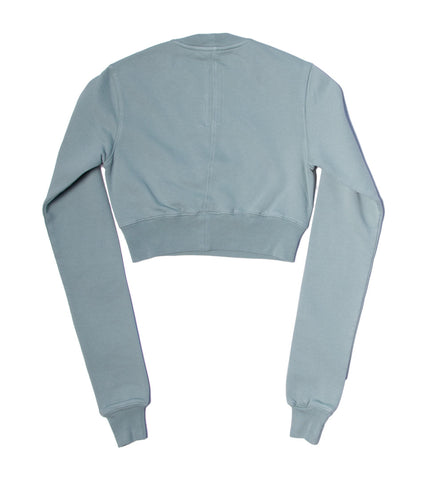 RICK OWENS DRKSHDW - CREWNECK SWEAT CROPPED