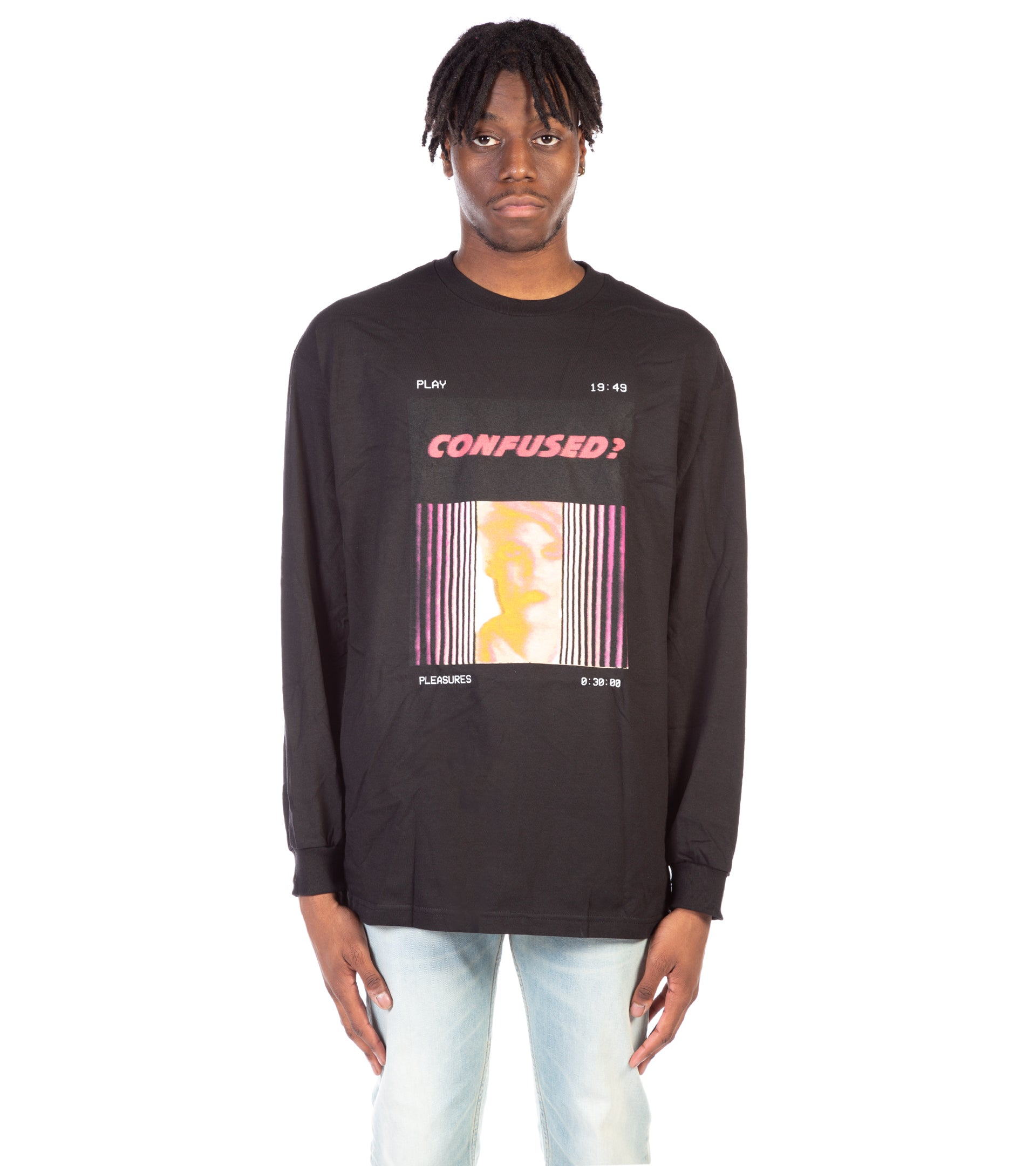 CONFUSED LONGSLEEVE T-SHIRT