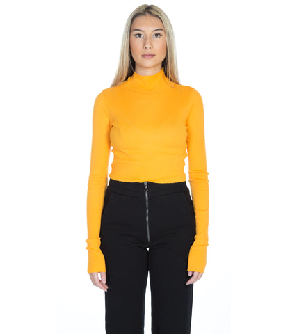 MELBOURNE CROP TURTLENECK