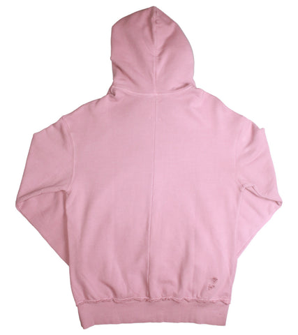 NID DE GUEPES - DISTRESSED PINK HOODIE - COMMON  - 2