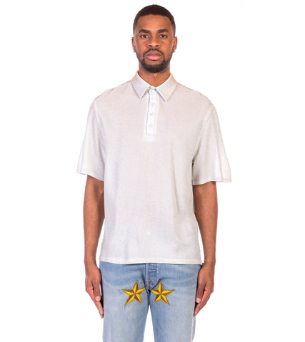 3.PARADIS - LAUDEL SHORT SLEEVE POLO SHIRT