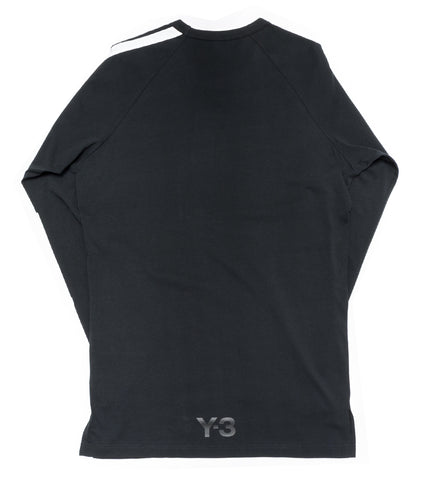 Y-3 - STRIPES LONG SLEEVE TEE