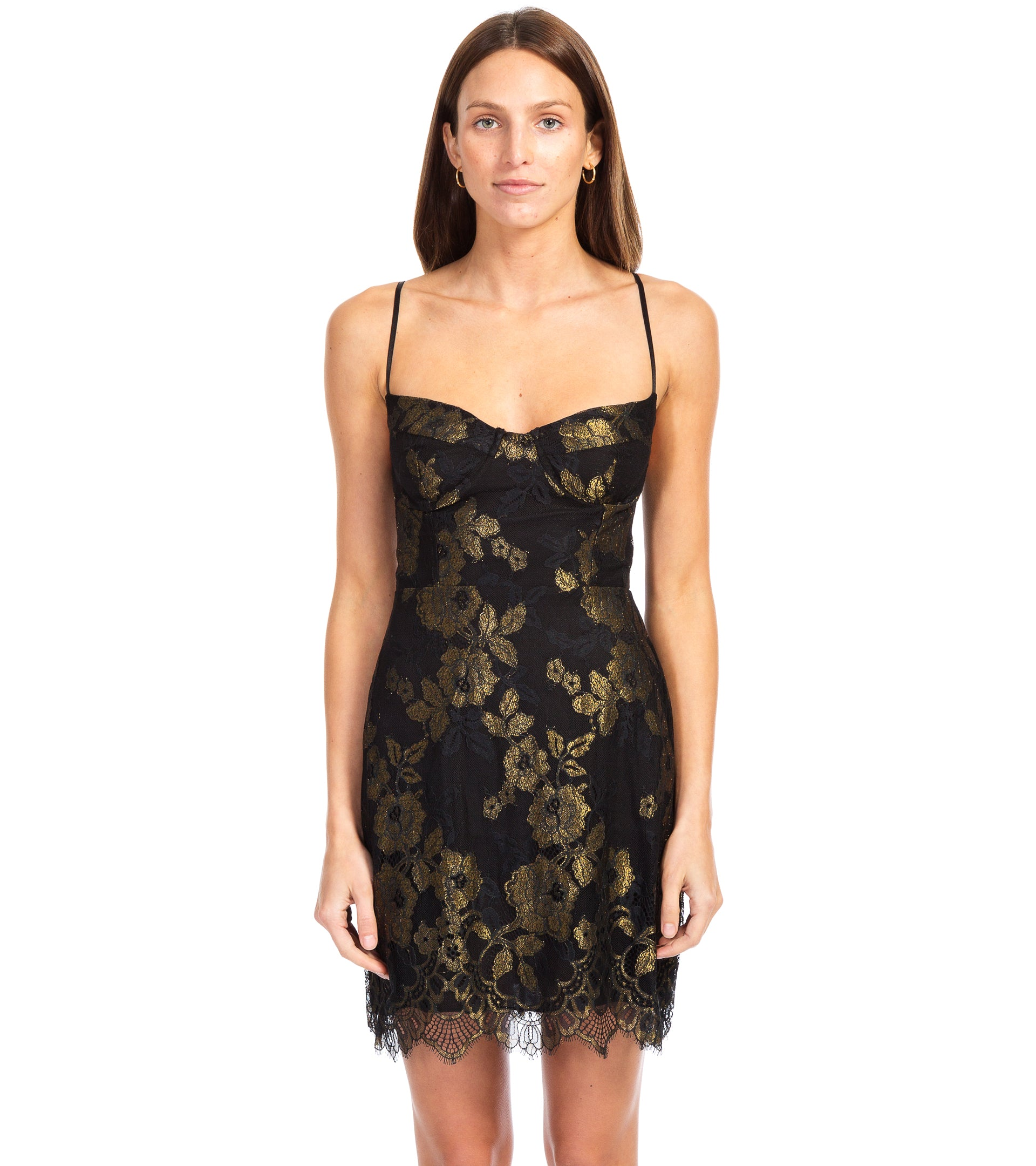 f5f945f0f30 For Love And Lemons. BUMBLE BUSTIER DRESS ...