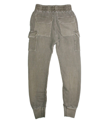 REPRESENT - WASHED MILITARY JOGGERS - COMMON  - 2
