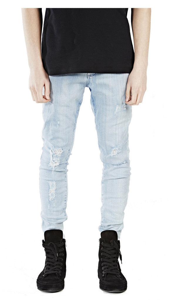Destroyed jeans Represent Fashionable For Sale Manchester Great Sale Online uuZqpRkO