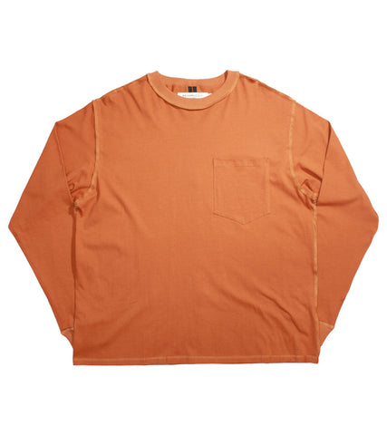 MR. COMPLETELY - LONG SLEEVE POCKET TEE - COMMON  - 1