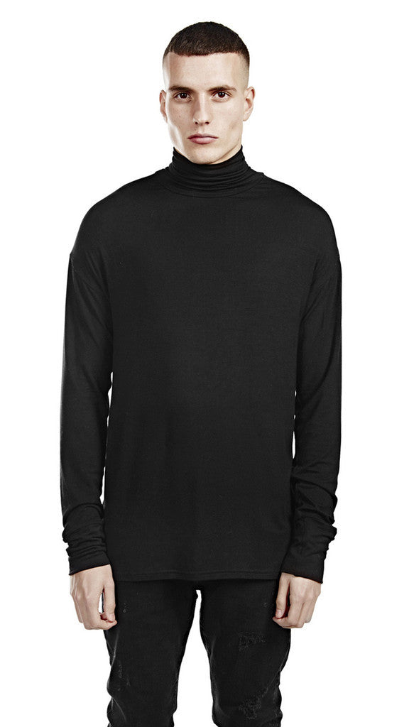 Represent - Turtle Neck Black - COMMON