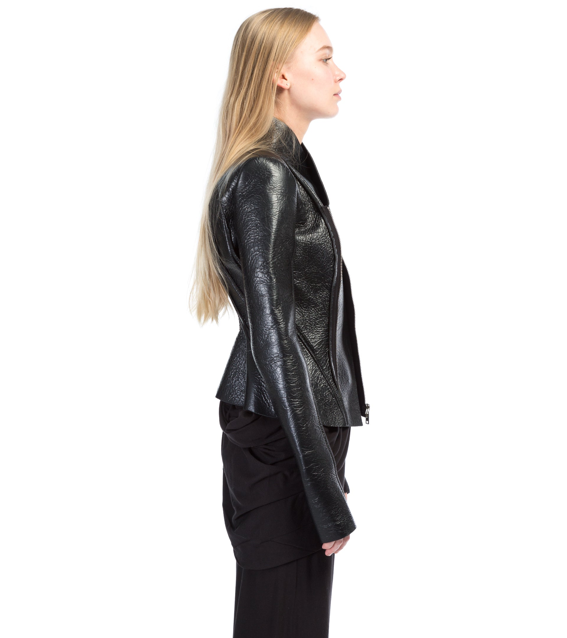 RICK OWENS LILIES - LEATHER JACKET