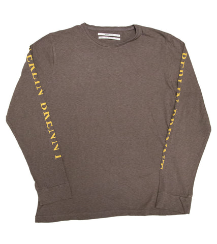 ROBERT GELLER - THE SLEEVE PRINT L/S T-SHIRT