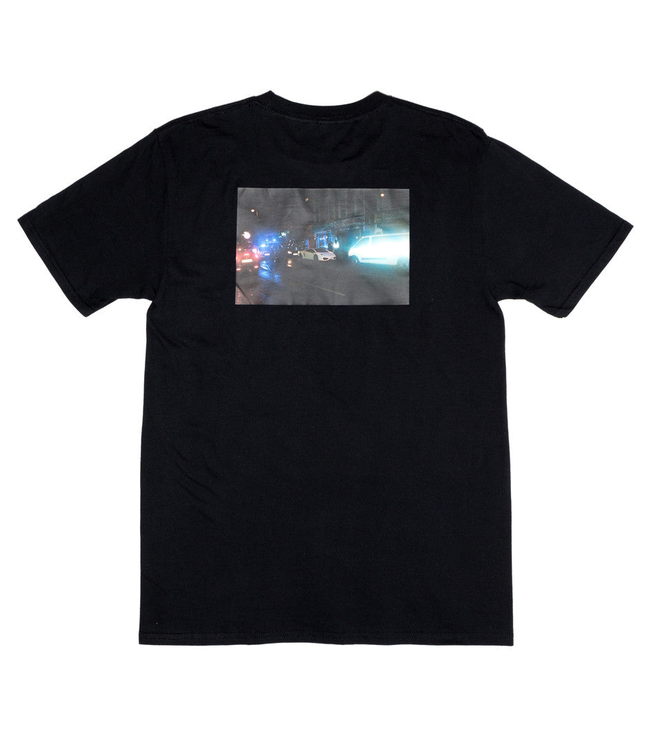 PLACES + FACES - BLACK PHOTO TEE 2