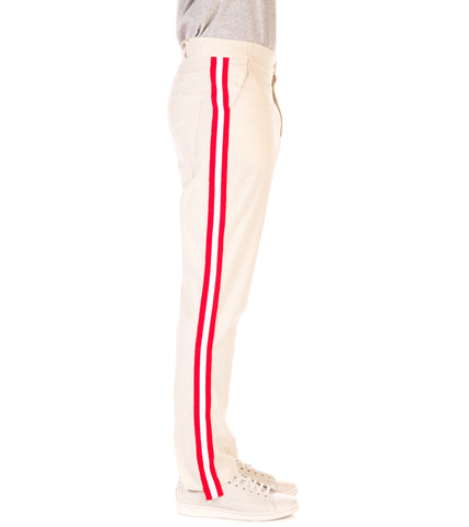 3.PARADIS - PAOLO STRIPE TROUSERS