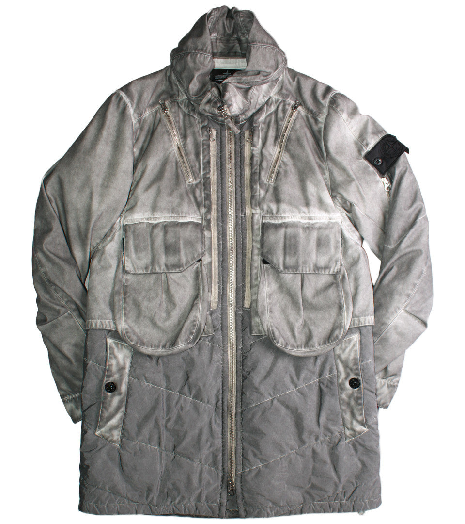 STONE ISLAND SHADOW PROJECT - RASO JACKET - COMMON  - 1