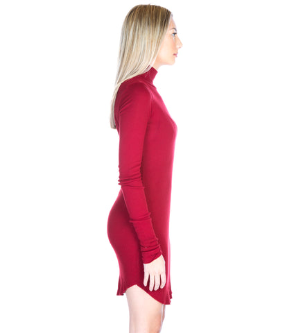 MELBOURNE TURTLENECK MINI DRESS