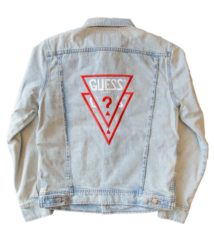 GUESS ORIGINALS x A$AP ROCKY - Unisex Denim Jacket with OG Guess Logo