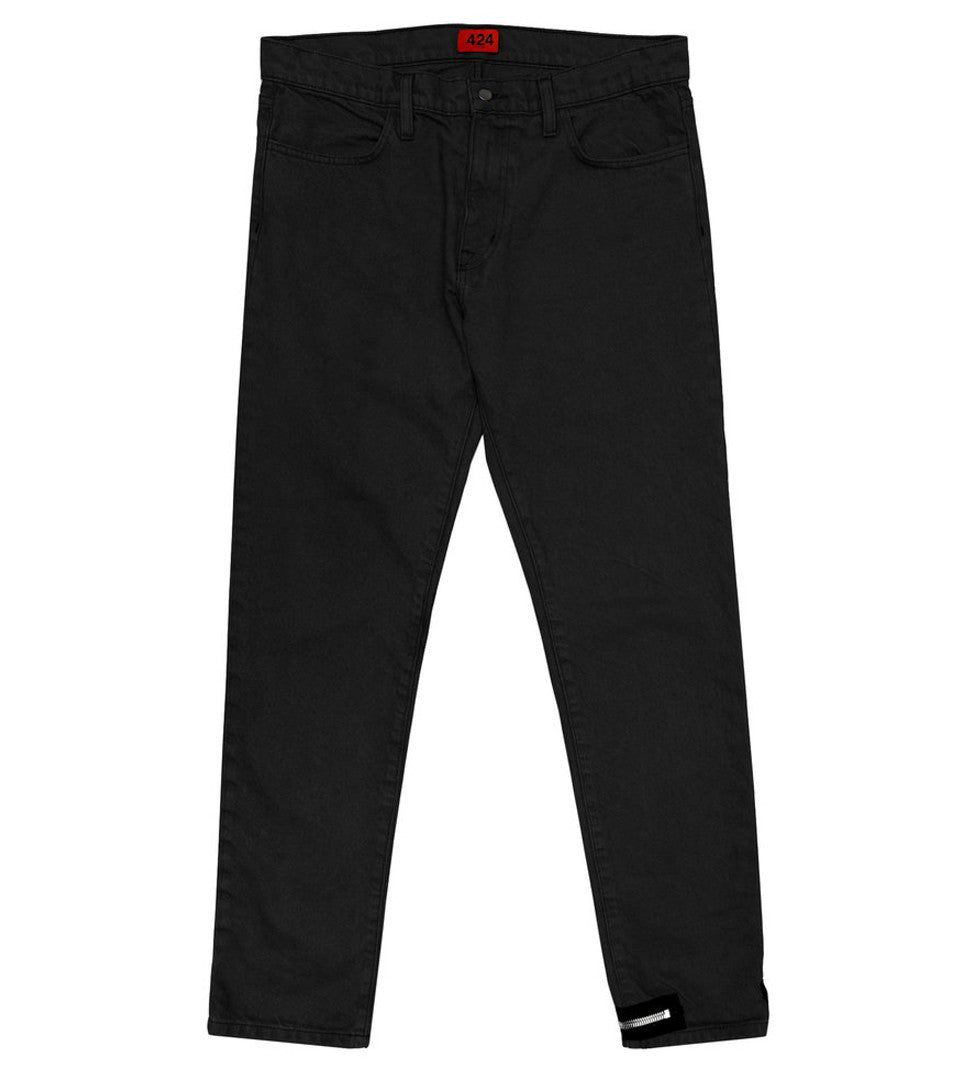 424 - Denim Pant w/ Ankle Zip