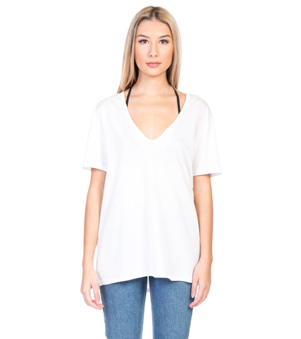 SUPIMA COTTON DEEP V TEE