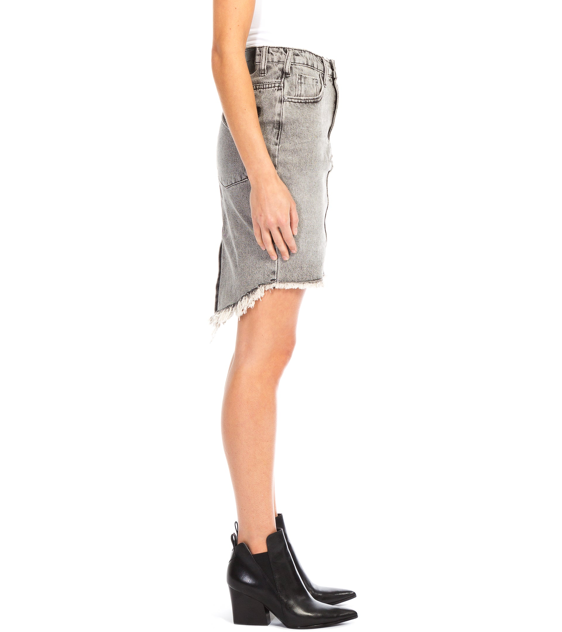 2020 HIGH WAIST DENIM SKIRT