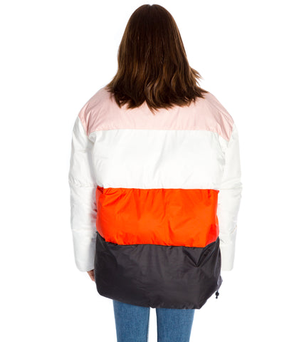COLOUR BLOCK PUFFER