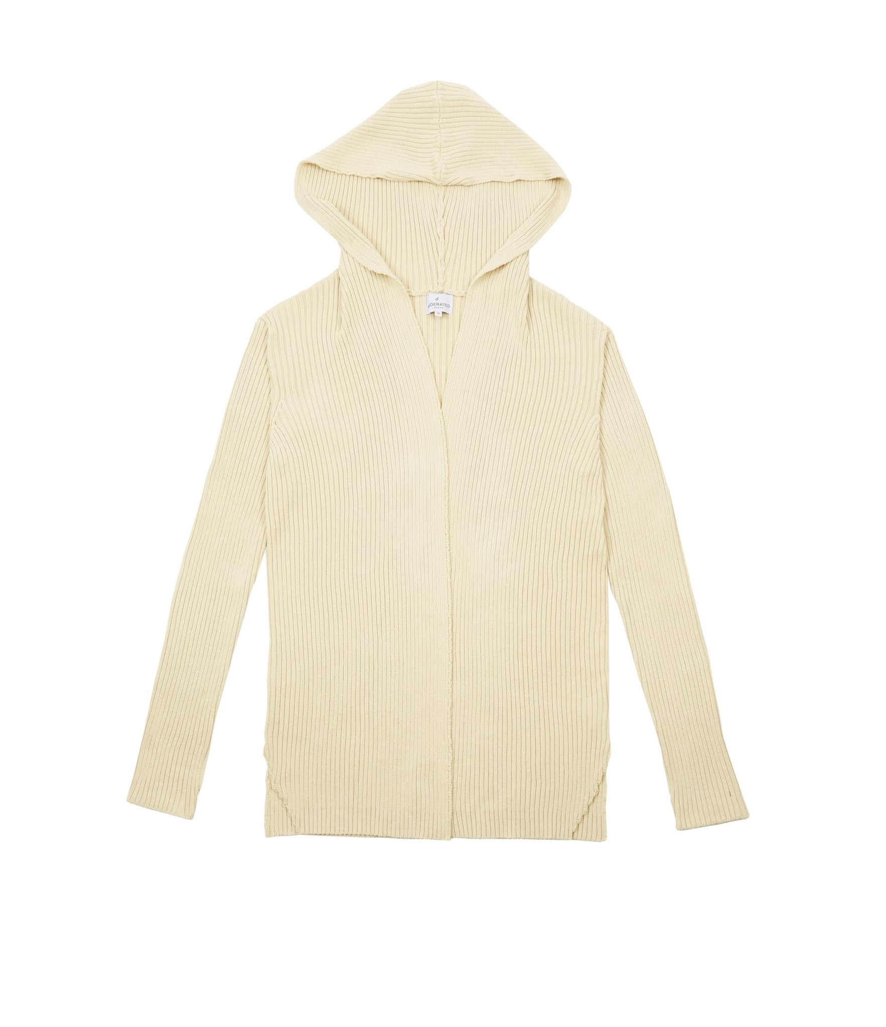 Underated - Hooded Knit Cardigan - COMMON  - 1