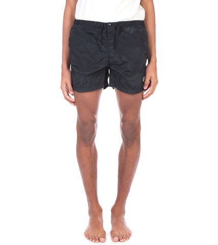 NYLON METAL LOGO SWIM SHORTS