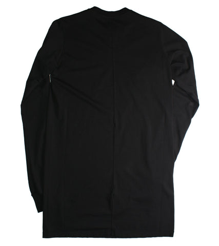 RICK OWENS DRKSHDW - LONG SLEEVE LEVEL ROUND NECK TEE - COMMON  - 2