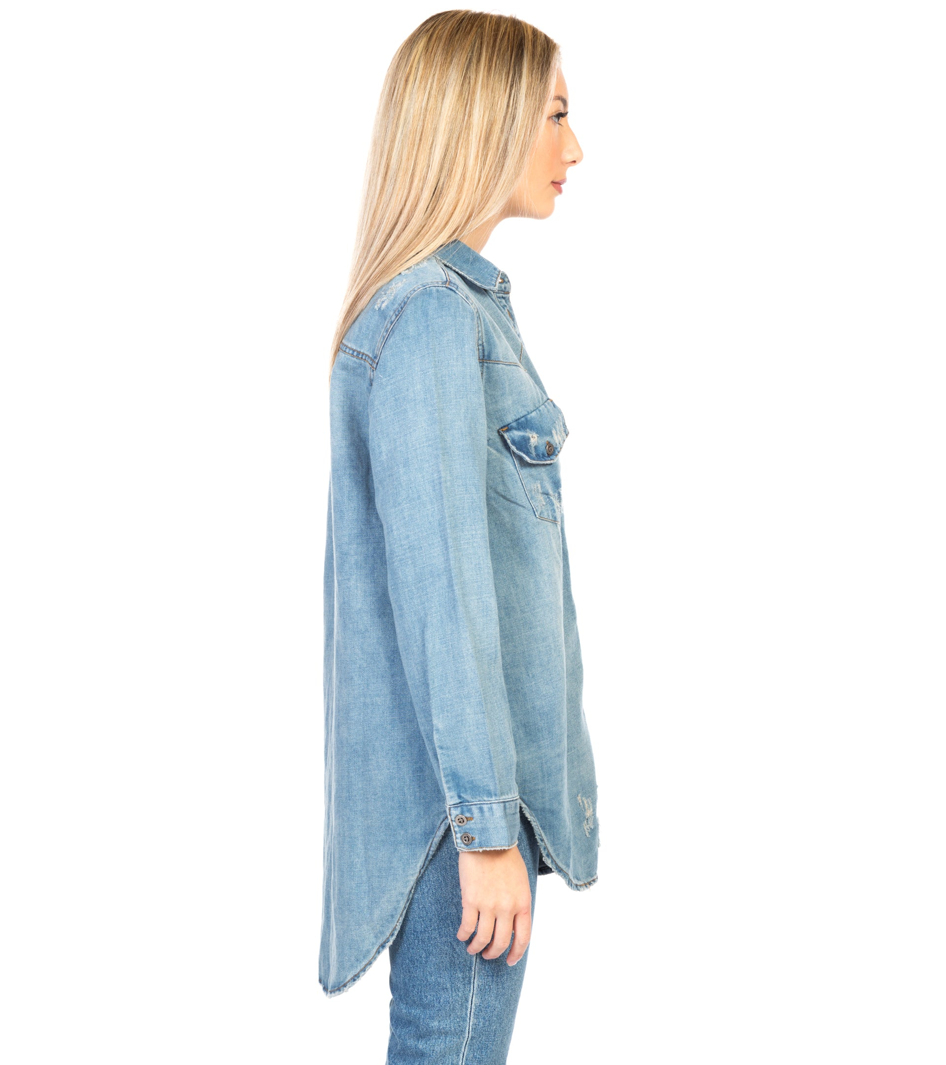 NEW VINTAGE DENIM SHIRT