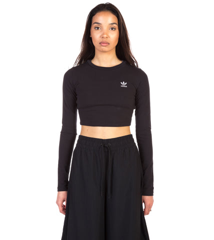 WOMENS STYLING COMPLEMENTS CROPPED TEE