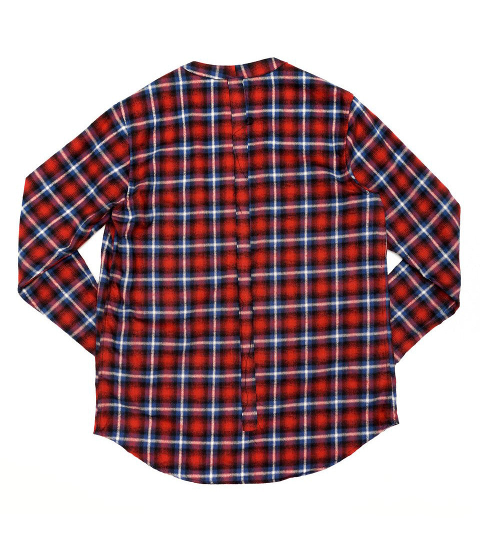 424 - FLANNEL THROW OVER - COMMON  - 2
