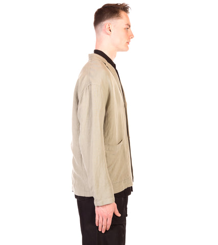 LINEN PATCH POCKET JACKET