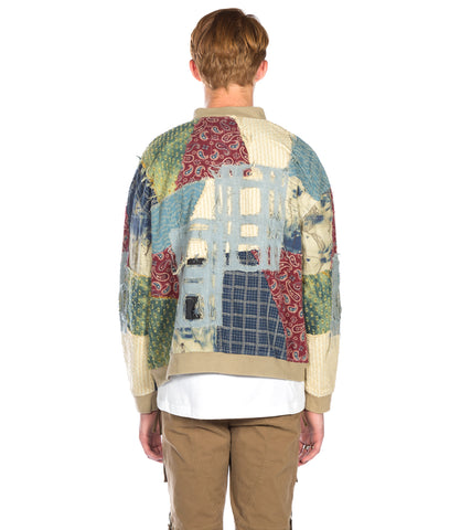 C2H4 - PATCHWORK MA-1 JACKET PATCHWORK