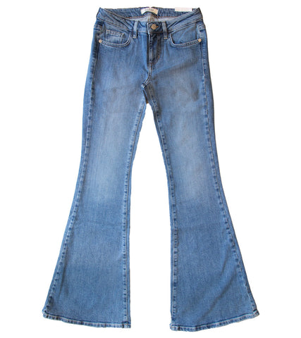 GUESS ORIGINALS x A$AP ROCKY - Womens High-Rise Flare Jeans
