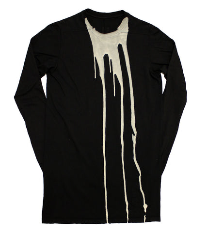 RICK OWENS DRKSHDW - LEVEL LONG SLEEVE TEE - COMMON  - 1