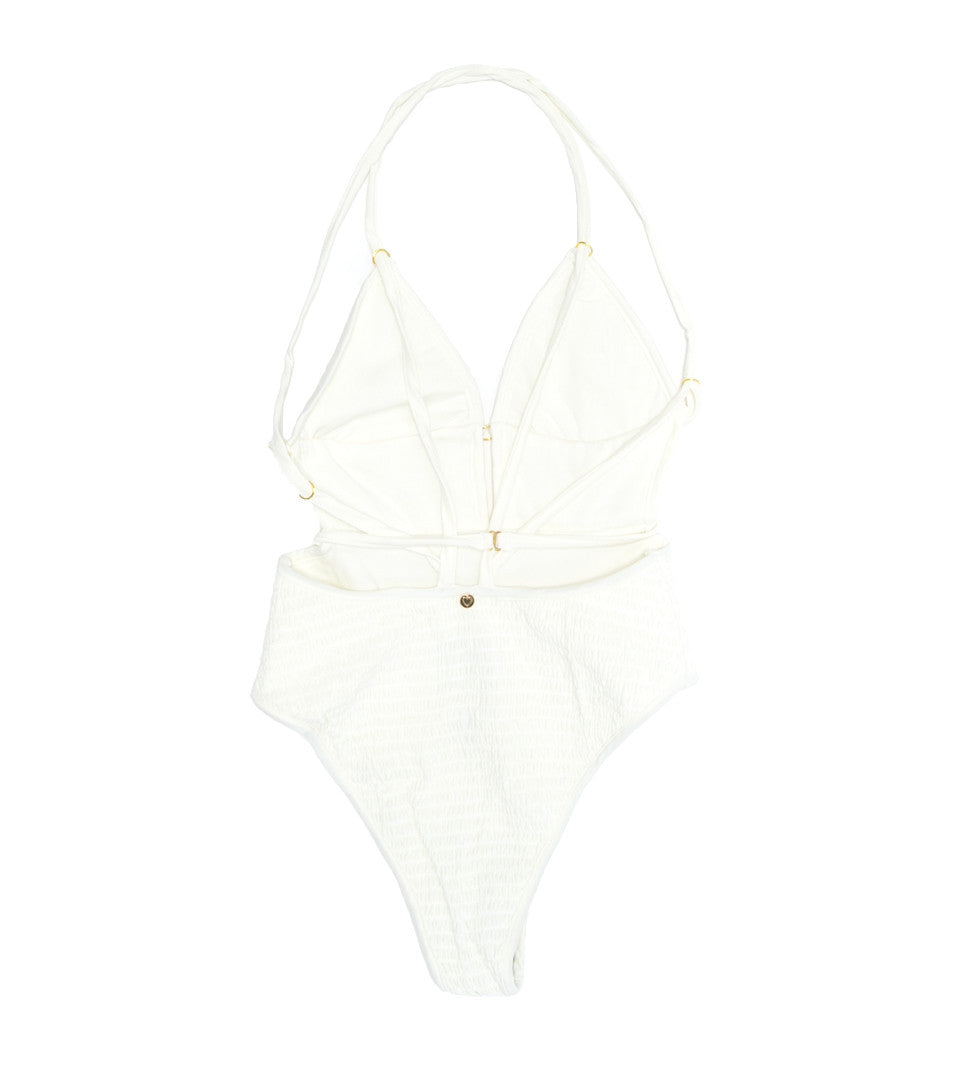 FOR LOVE AND LEMONS - CAPRI SCRUNCHY ONE PIECE