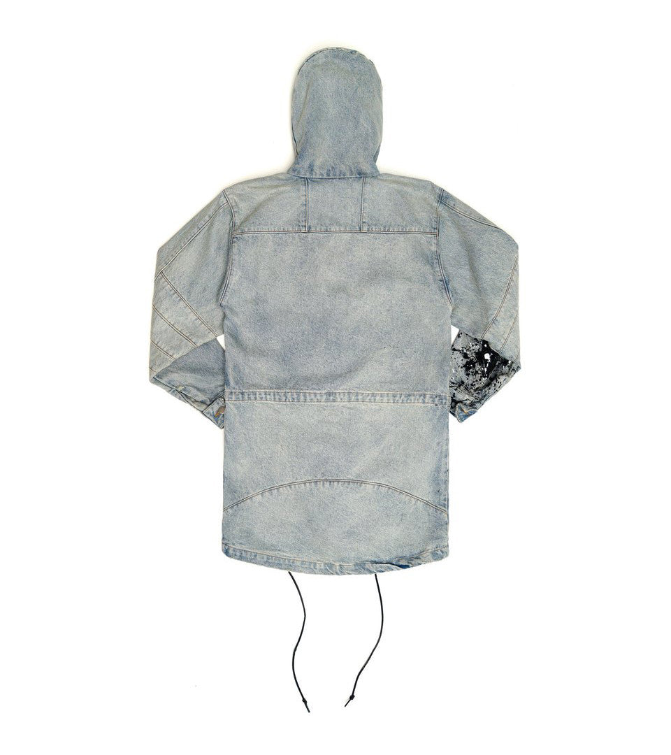 424 - 1 of 1 Painted Denim Parka