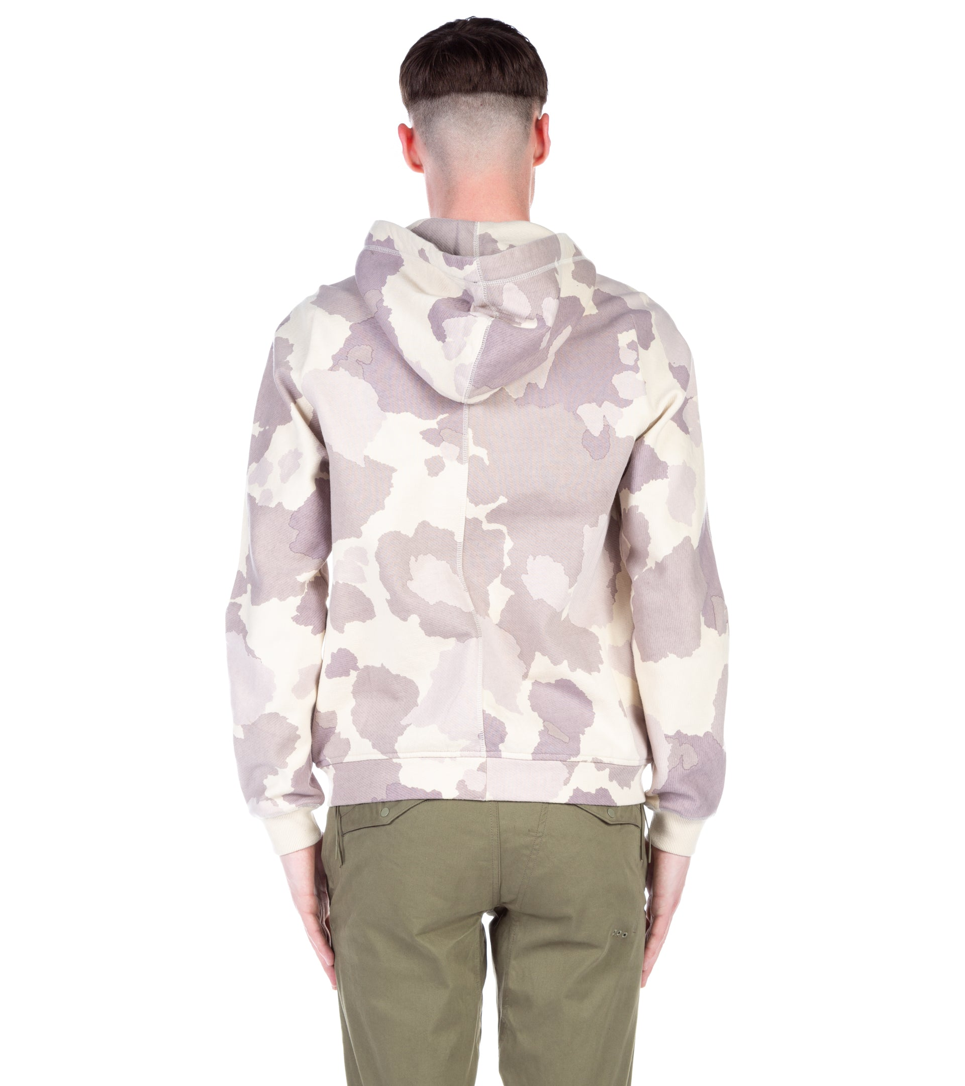 CAMO CARGO HOODED SWEAT