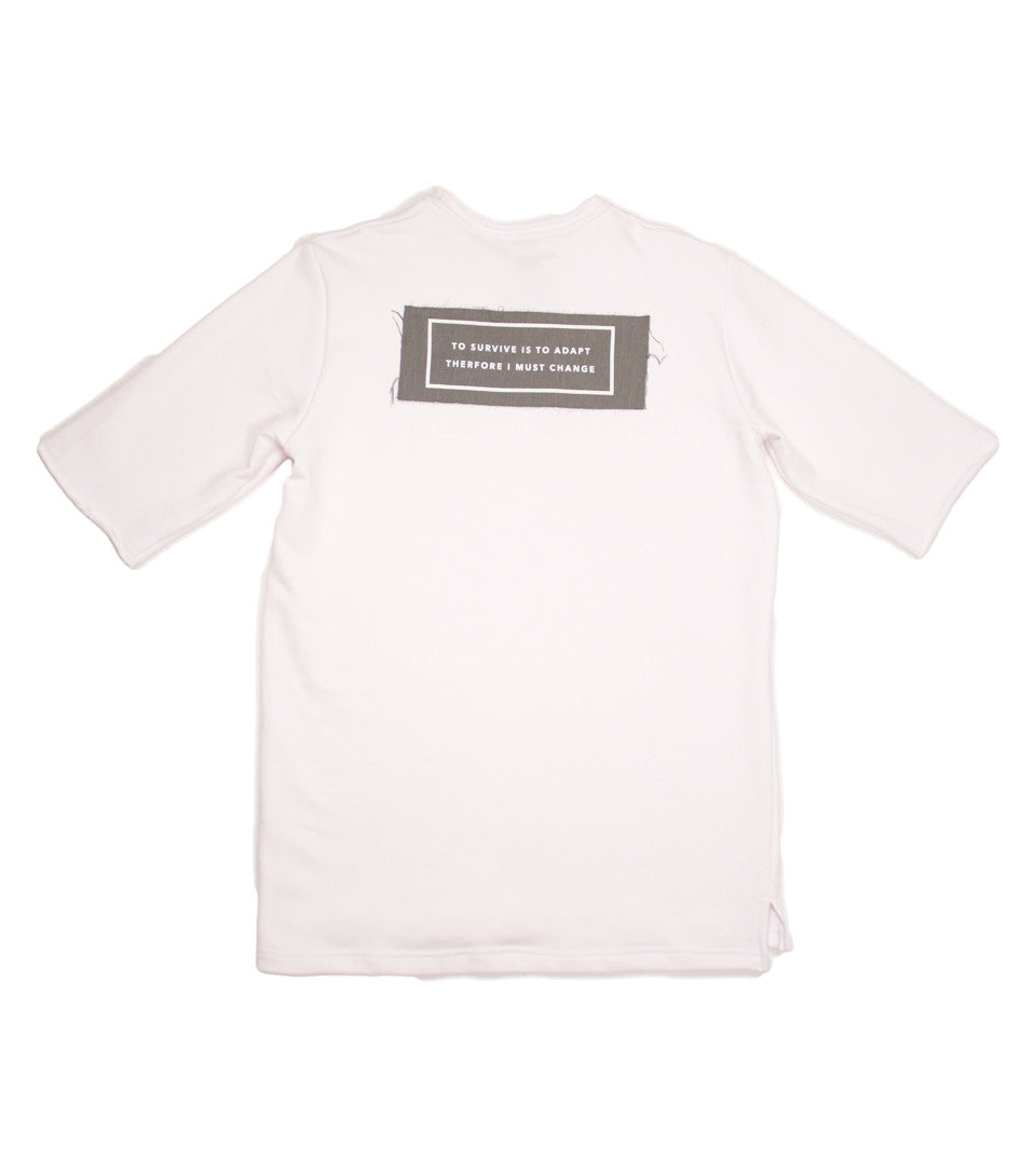 Adyn - White Adapt Patch S/S Sweat - COMMON  - 1