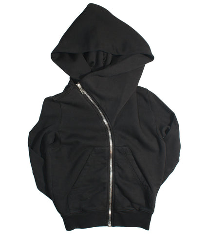 RICK OWENS DRKSHDW - MOUNTAIN CROPPED HOODIE - COMMON  - 1