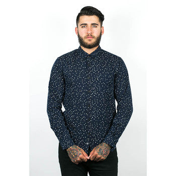 Wolf & Man - Nami Speckled Shirt - COMMON