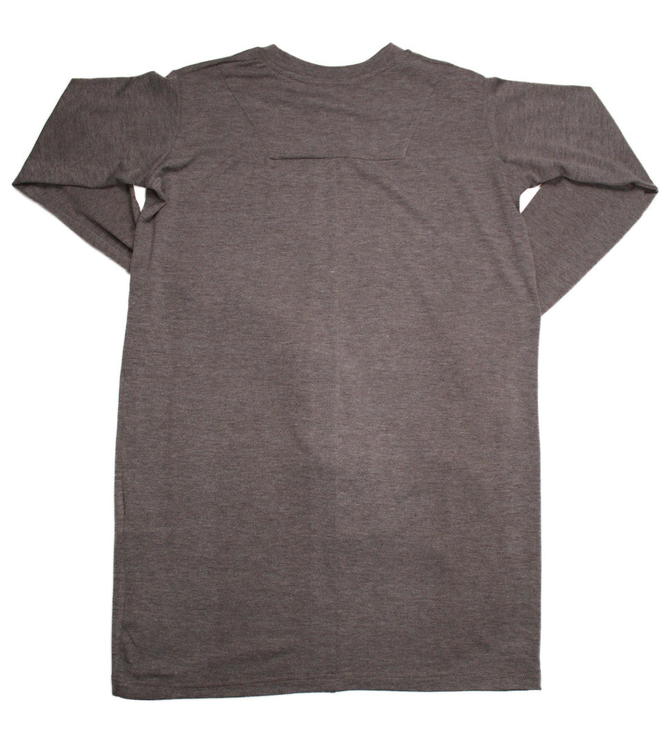 Adyn - Grey Essential Long Sleeve Tee - COMMON  - 2