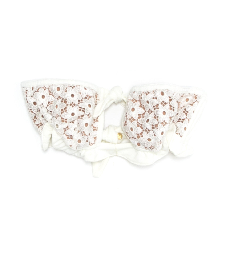 FOR LOVE AND LEMONS - ALICANTE LACE BANDEAU
