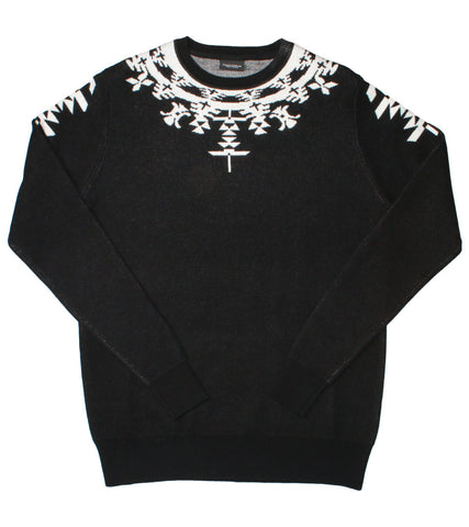 MARCELO BURLON COUNTY OF MILAN - HUEMULES SWEATER - COMMON  - 1