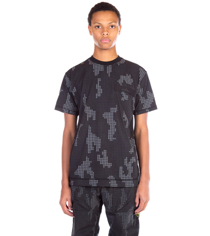 SI CHECK GRID CAMO T-SHIRT