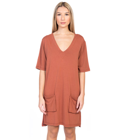 BUFFALO MODAL SLOUCHY DRESS