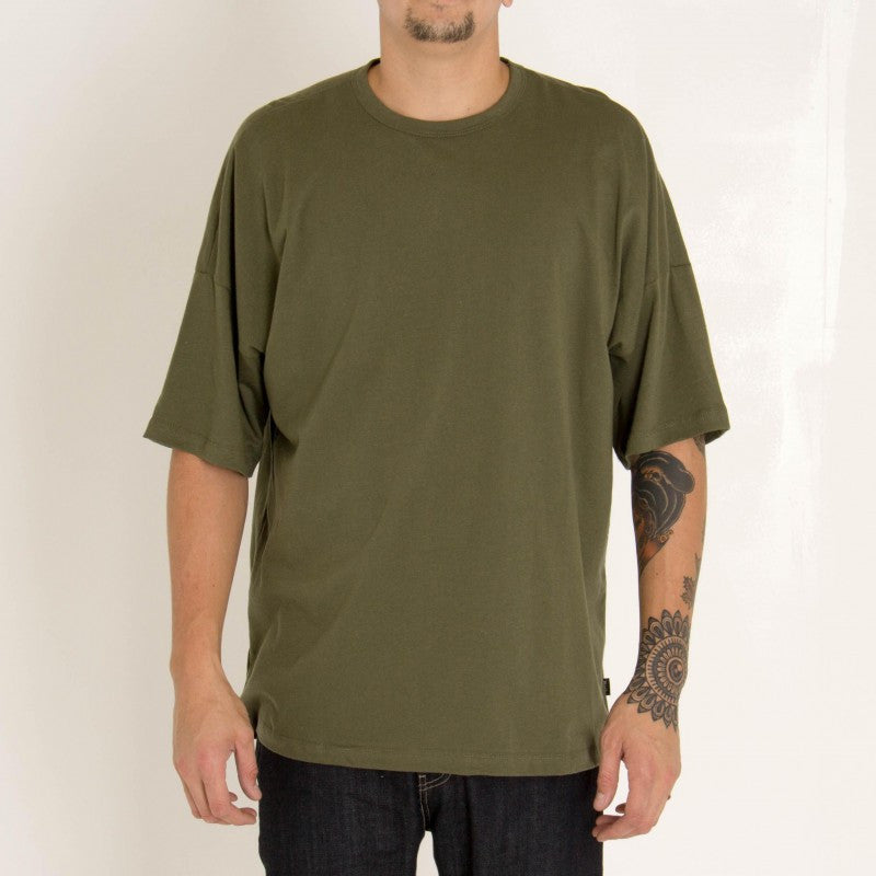 eptm - olive oversize tee - COMMON