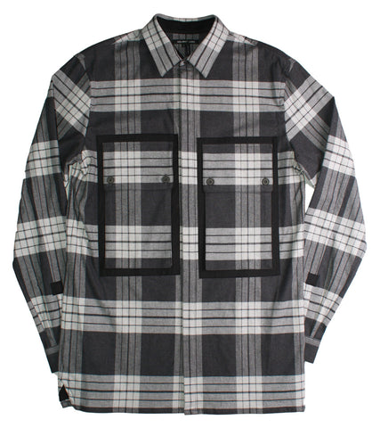 HELMUT LANG - PLAID POCKET SHIRT - COMMON  - 1