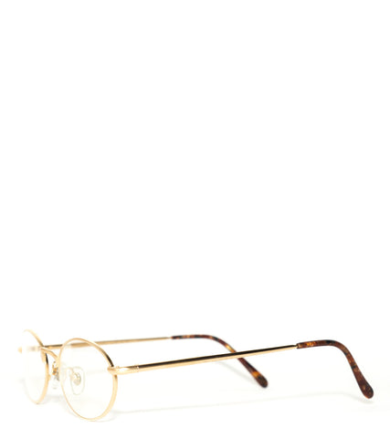 1b3d9e4cedb VINTAGE FRAMES - PAOLO GUCCI 7418 21K SPECIAL EDITION FLASH GOLD PLATED  LENSES